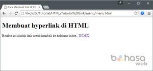 Cara Membuat Link di HTML