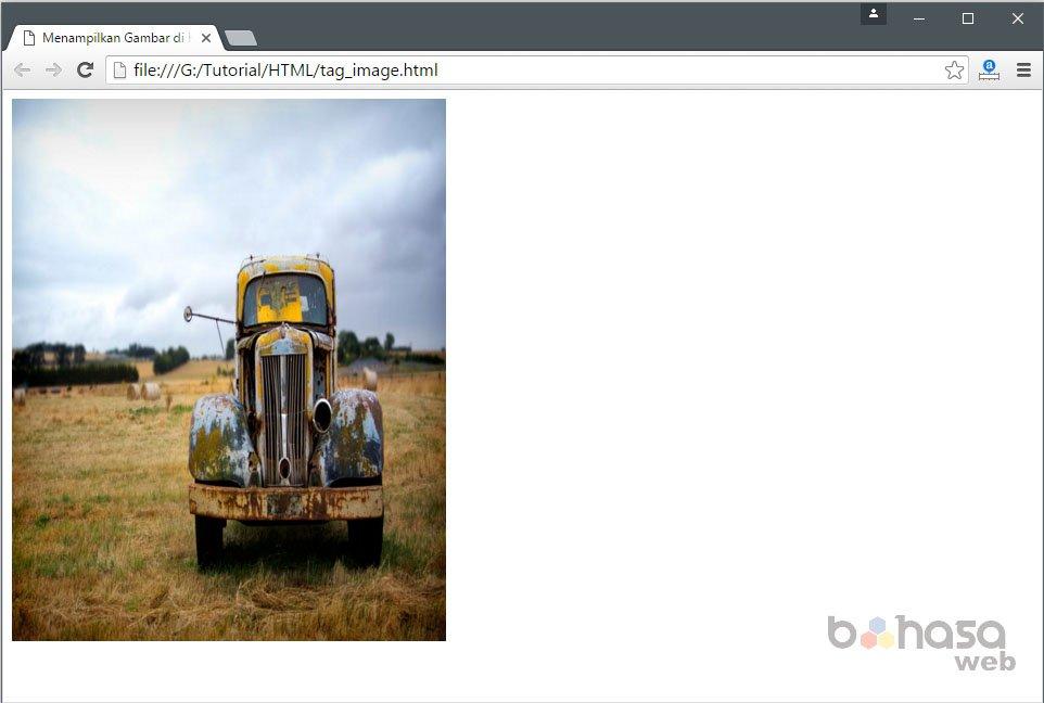 Menampilkan Gambar di HTML