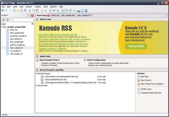 Rekomendasi Text Editor Untuk Web Programmer