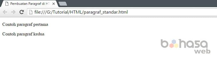 Membuat Judul (Heading) dan Paragraf HTML