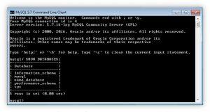 Cara menampilkan database