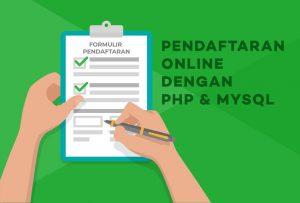 Menghapus Data Anggota Pendaftaran Dengan Php MySQL