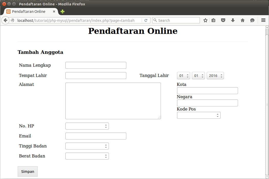 http://localhost/tutorial/php-mysql/pendaftaran/index.php?page=tambah