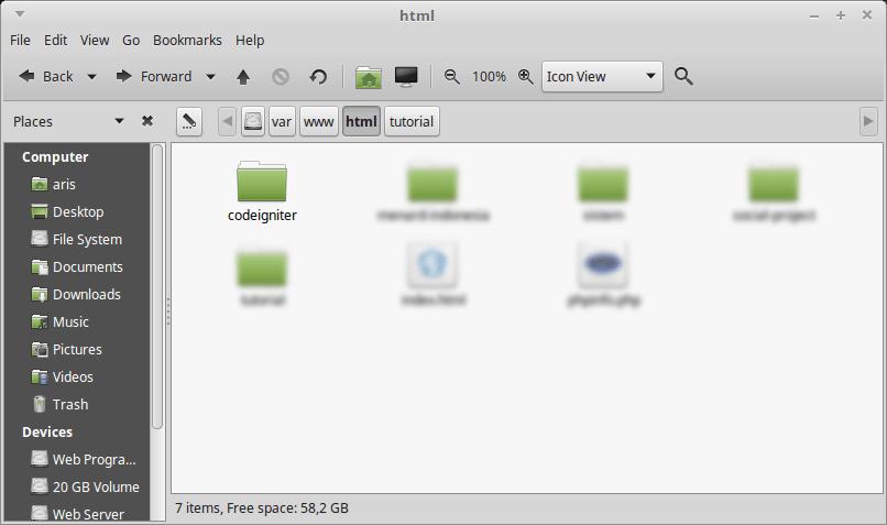 cara install codeigniter