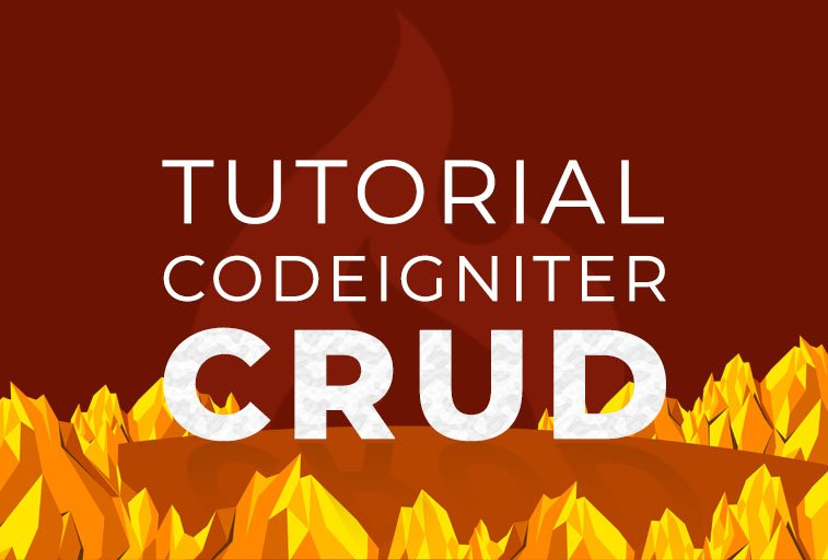 tutorial crud codeigniter