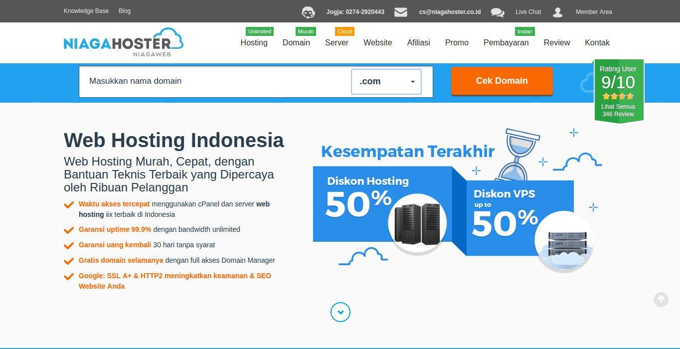 Niagahoster: Hosting Web Developer • Bahasaweb.com
