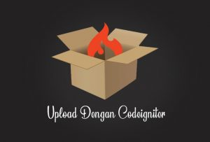 Cara upload dengan codeigniter