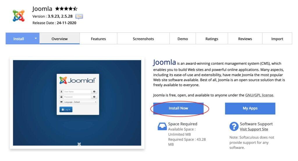 cara membuat website sendiri dengan joomla
