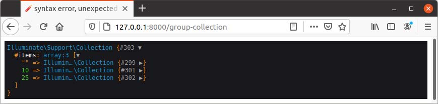 Group data collection
