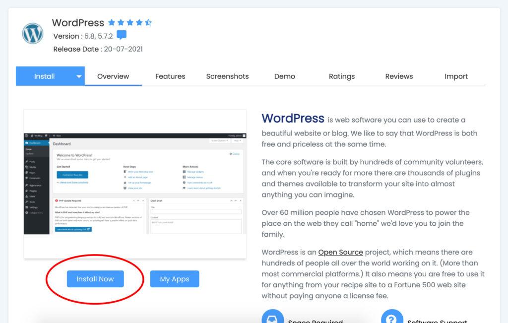 Cara Install WordPress di Cpanel Bagian 4