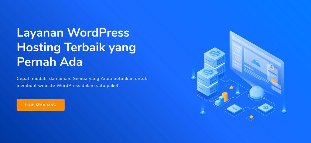 Hosting murah untuk wordpress