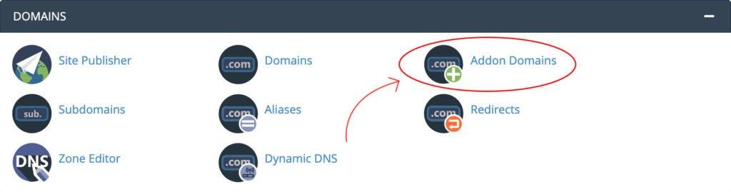 menambahkan domain baru di cpanel
